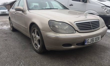 MERCEDES S320CDI BONTOTT ALKATRÉSZEK