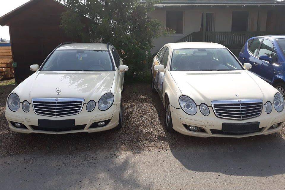 Mercedes E-osztály W211 bontott alkatrészek
