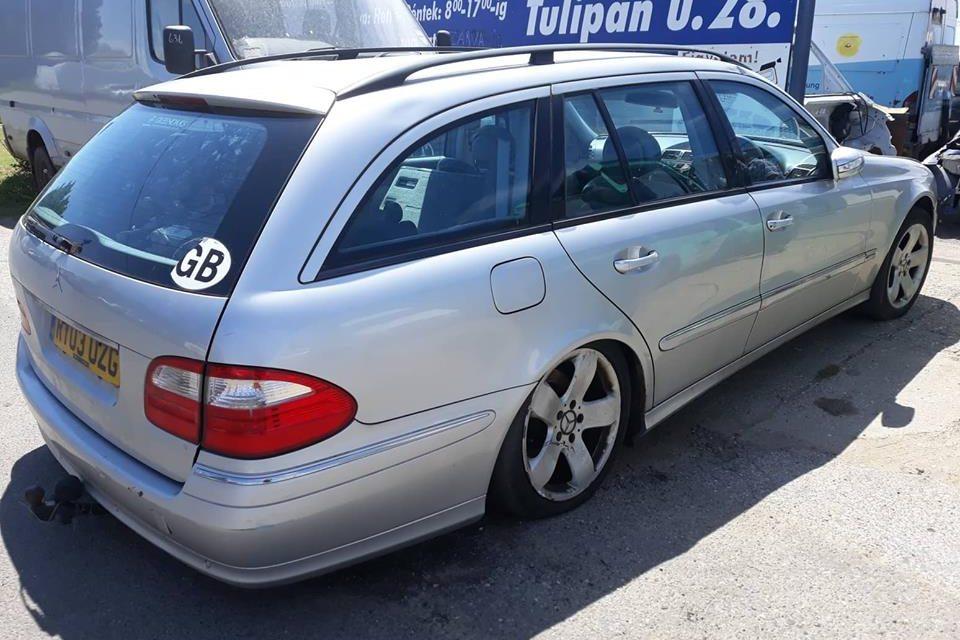 Mercedes E-klasa polovni delovi