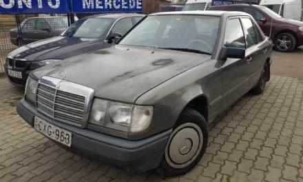 MERCEDES E W124 polovni delovi