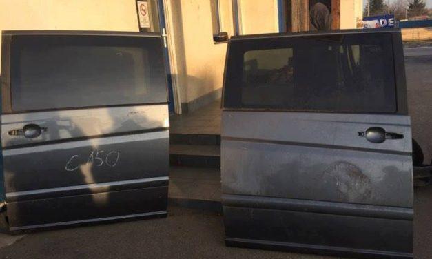 MERCEDES W639 boČna i zadnja vrata