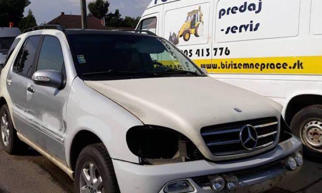 Mercedes ML bontott alkatrészek