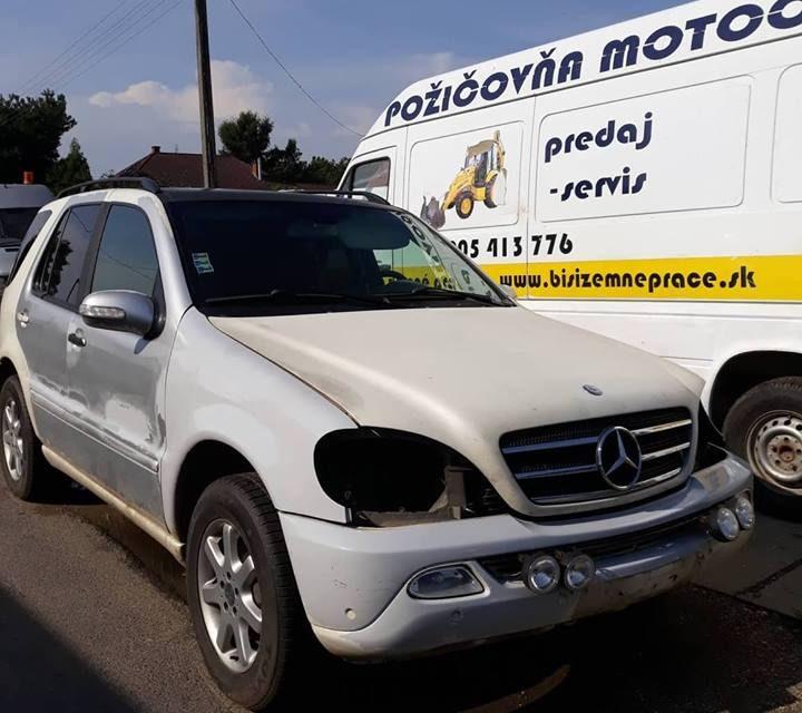 Mercedes ML polovni delovi